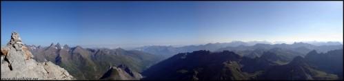 Panorama côté Savoie