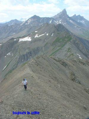 L'accès au sommet