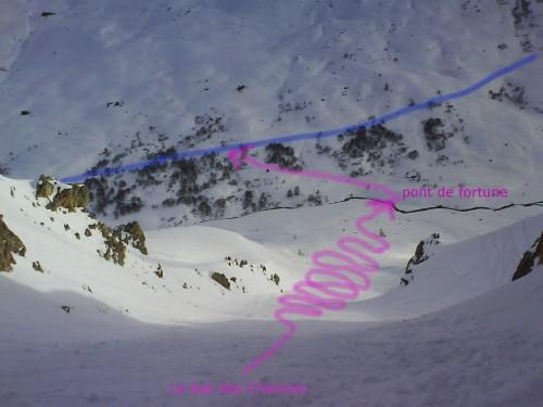 a fin est large, poudreuse, pentée, le pied... s'il y a assez de neige !