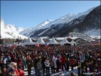 40 000 spectateurs à val d'Isère !