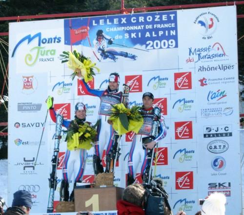 Jean-Baptiste Grange champion de France de slalom 2009