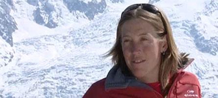 Karine, la plus titrée des snowboardeuses Française, venait de réaliser son rêve d'enfance: devenir Guide de haute Montagne.