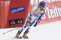 Arrivée du slalom géant de Sölden - photo : Ours Polaire Valloire 2009
