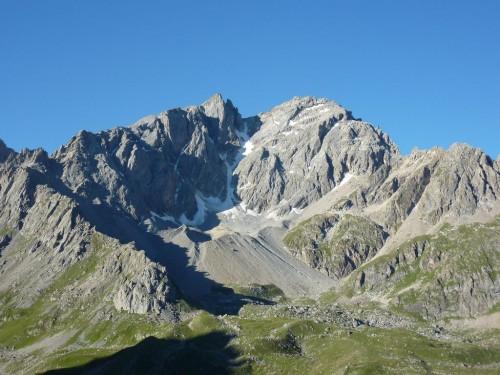 Le grand Galibier et le glacier de la Clapière