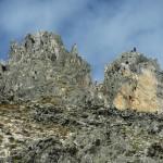 Alpinistes au sommet de l'Aiguille Noire