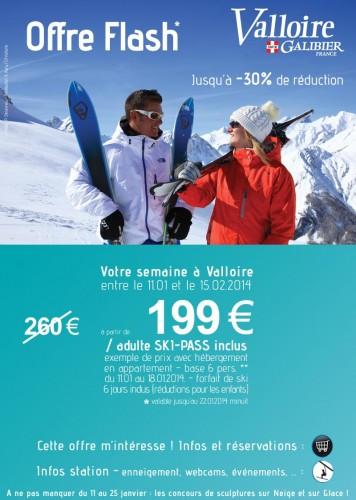 Promotion janvier 2014 - Valloire